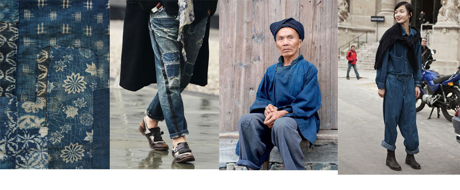 this week style indicator is all about denim & indigo