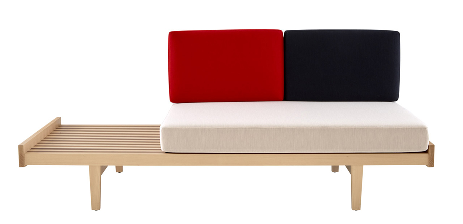 0 Banquette Daybed, Pierre Paulin (Ligne Roset)