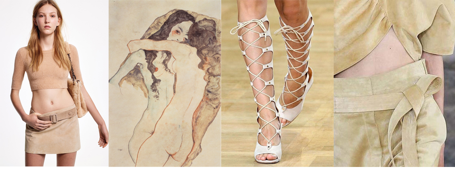STYLE INSPIRATION S/S 2015: NUDE SUÈDE